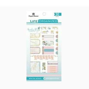 Paper House Life Organized  WEEKLY COLOR STICKER